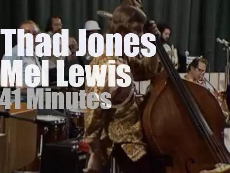Thad Jones & Mel Lewis bring their big band to Norway (1974)