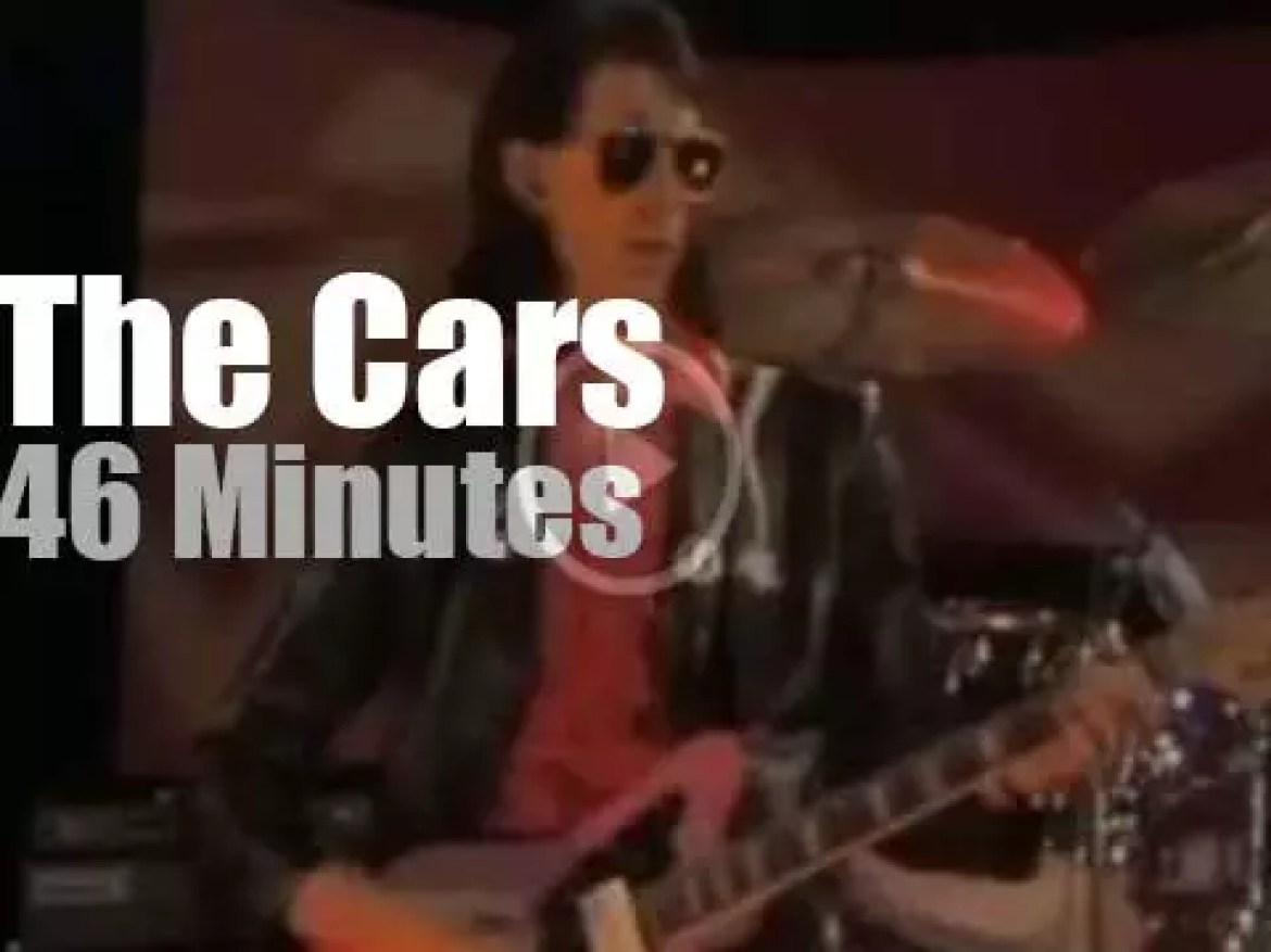 The Cars Live are live on German TV (1979)
