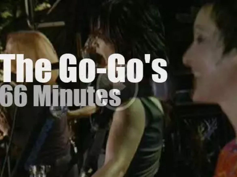 The Go Go's reunite in New-York (2001)