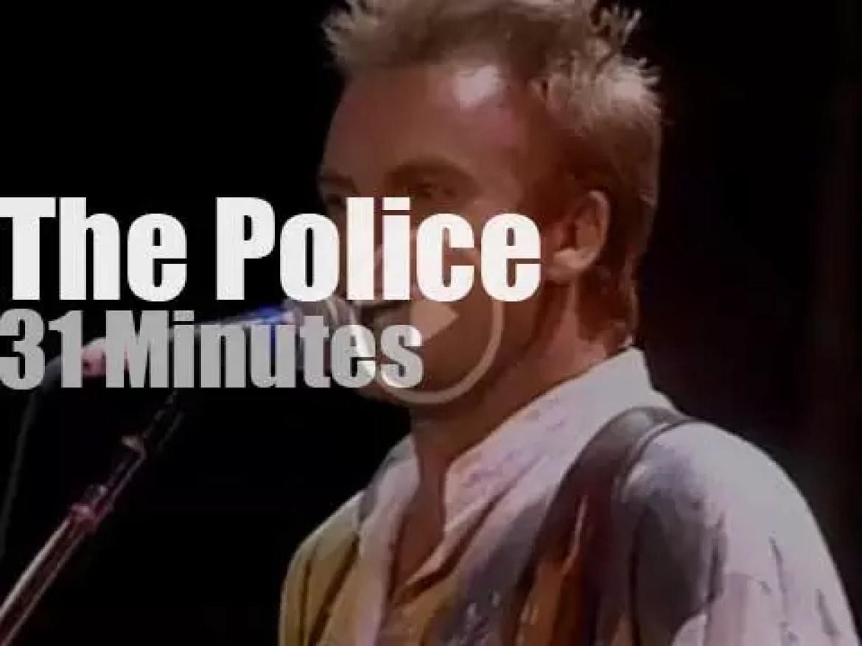 The Police reunites for Amnesty (1986)