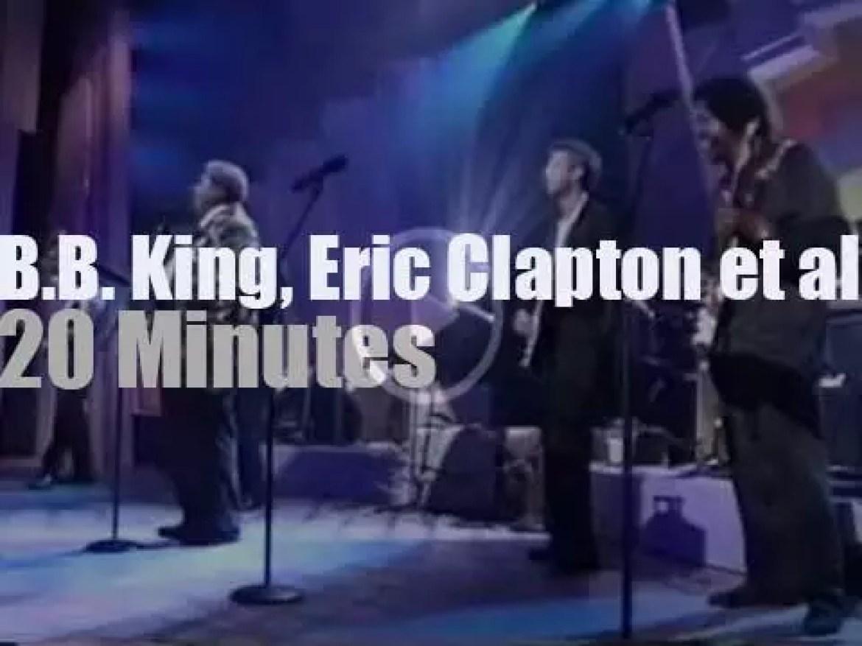 B.B. King, Eric Clapton et al celebrate the blues at the Apollo  (1993)