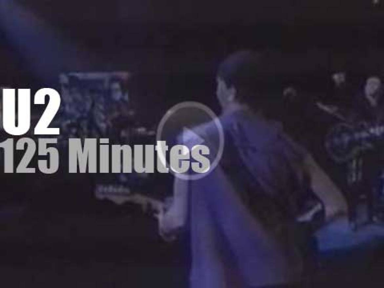 U2 Zoo TV Tour stops in Stockholm (1992)