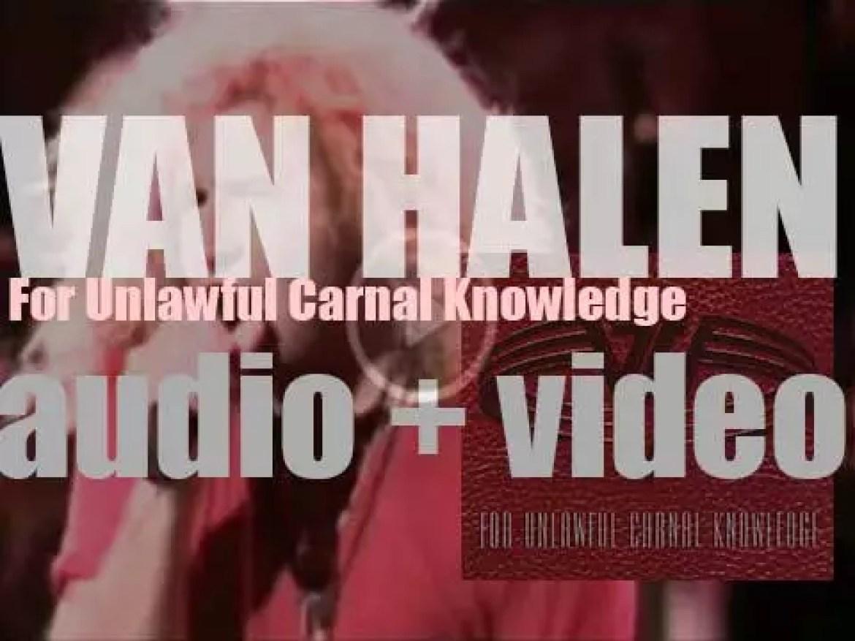 Warner Bros. publish Van Halen's ninth studio album : 'For Unlawful Carnal Knowledge (a.k.a. F.U.C.K.)' (1991)
