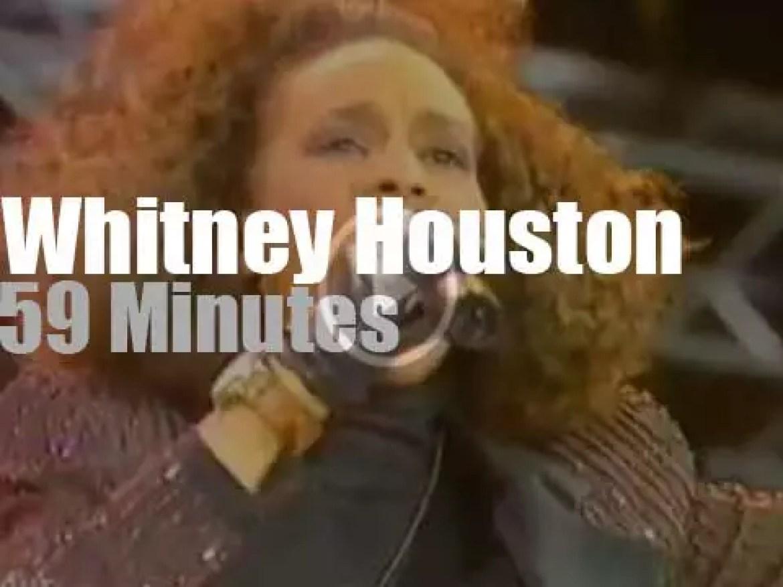 Whitney Houston sings for Nelson Mandela 70th Birthday (1988)