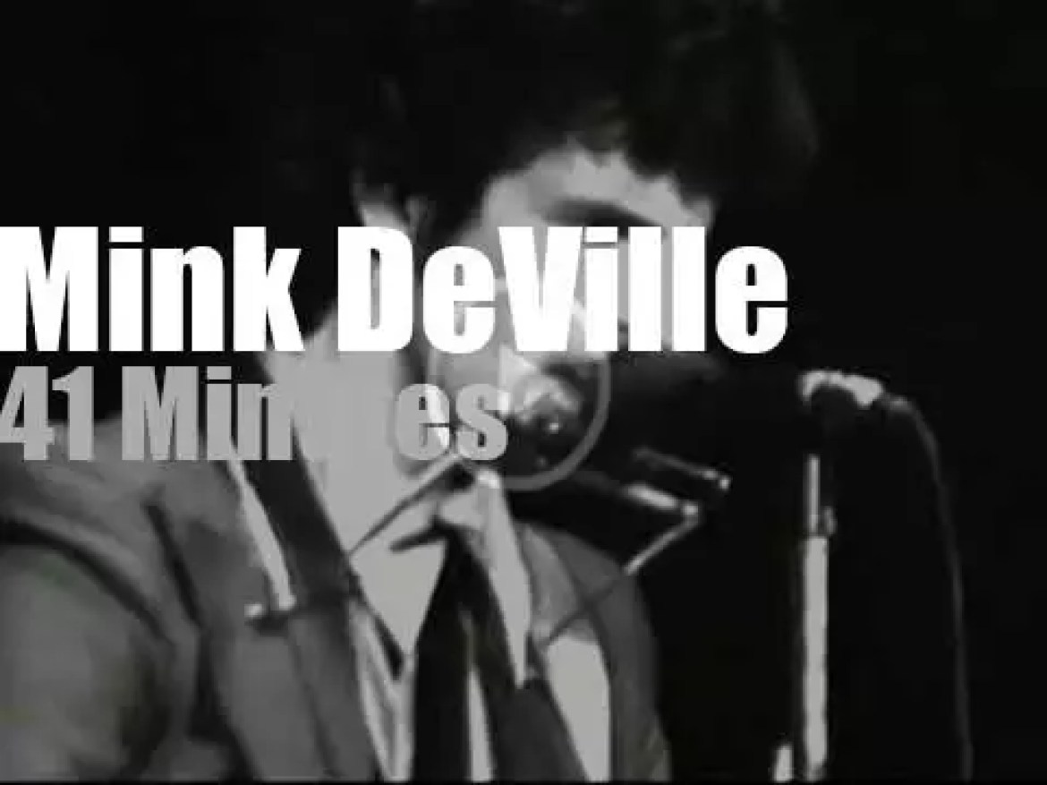 Willy DeVille sings at Winterland (1978)