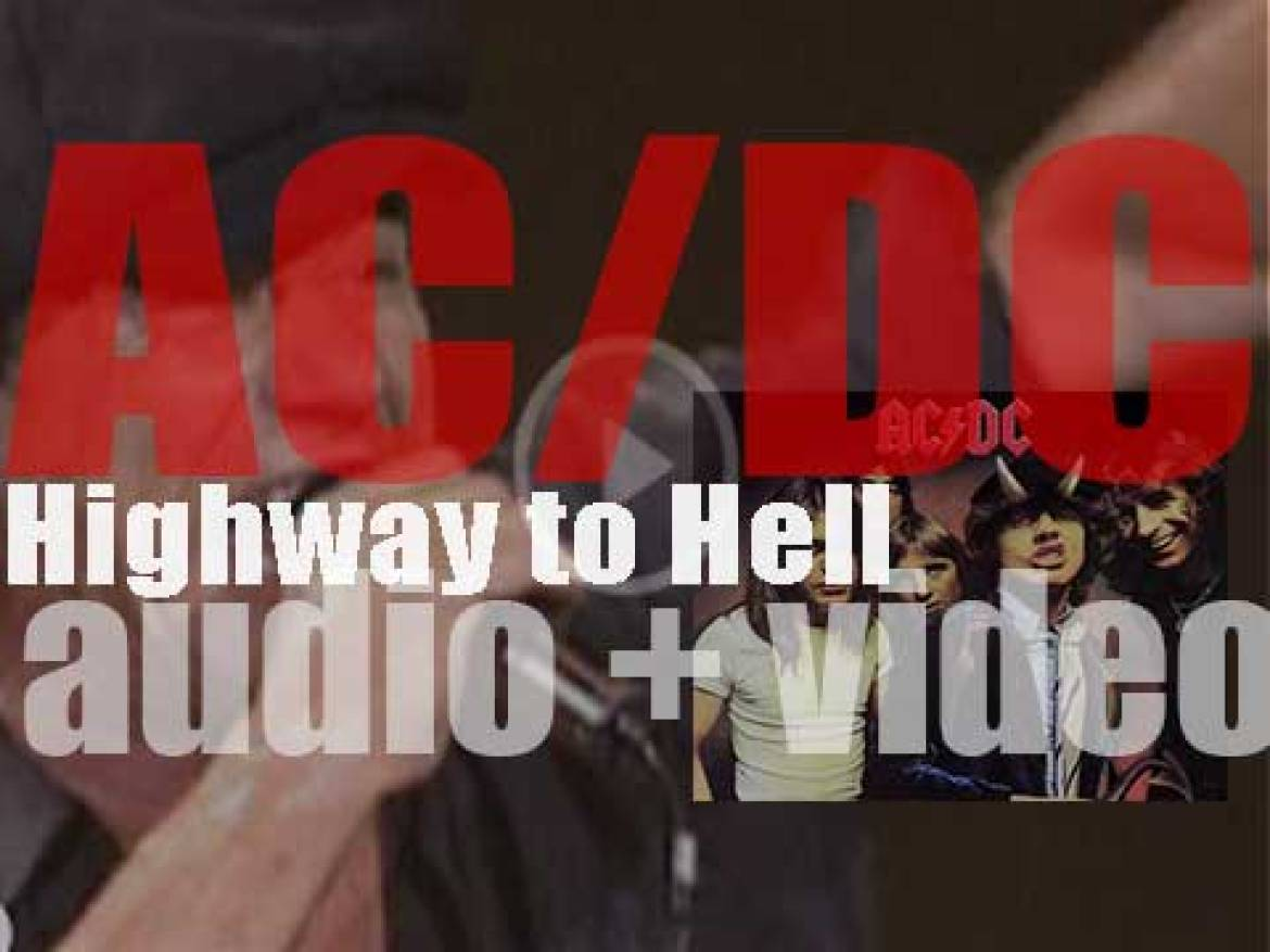 AC/DC release their fifth album (and the last with Bon Scott) : 'Highway to Hell' (1979)