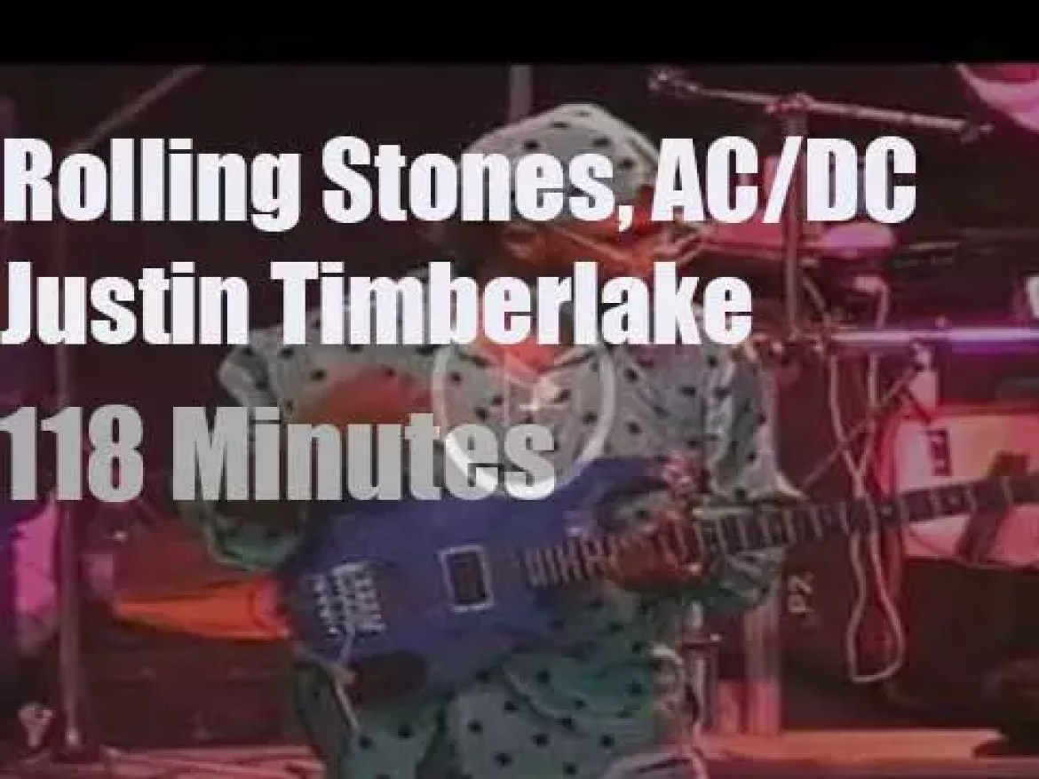 AC/DC, Rolling Stones et al play for a cause in Toronto  (2003)