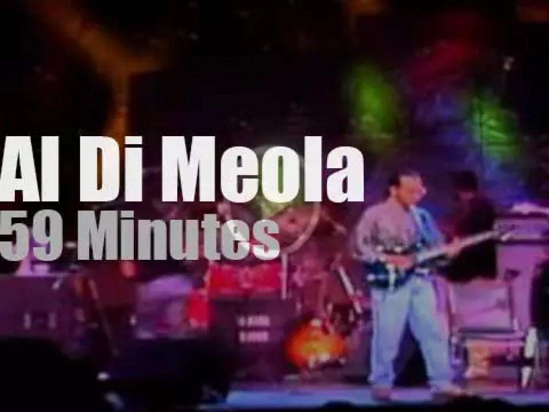 Al Di Meola has Project in Montreal (1988)