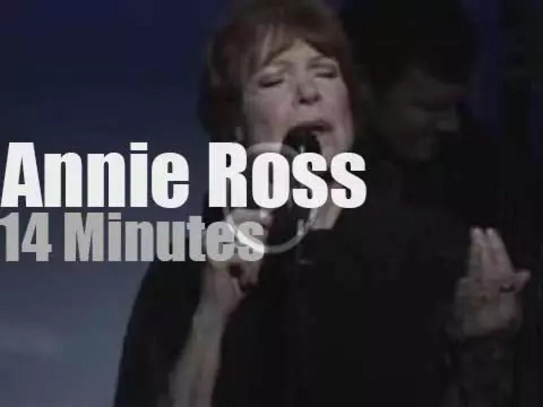 Annie Ross sings in New-York (2009)