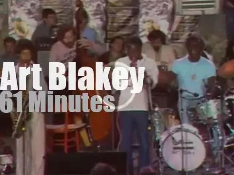 Art Blakey takes his Jazz Messengers to Umbria (1976)