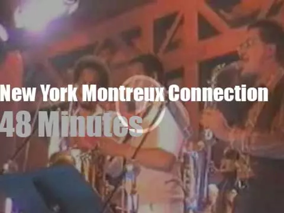 McCoy Tyner, Paquito D'Riviera et al connect in Montreux (1981)