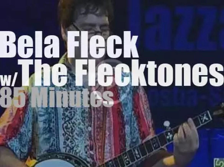Bela Fleck takes the Flecktones to San Sebastian (2006)