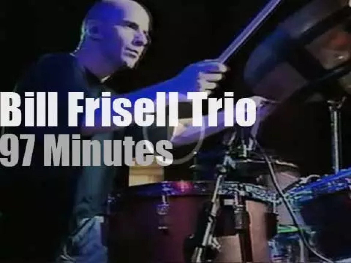 The Bill Frisell Trio visits Warsaw (1993)