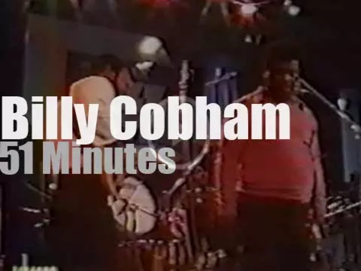 Billy Cobham drums in Montreux (1978)