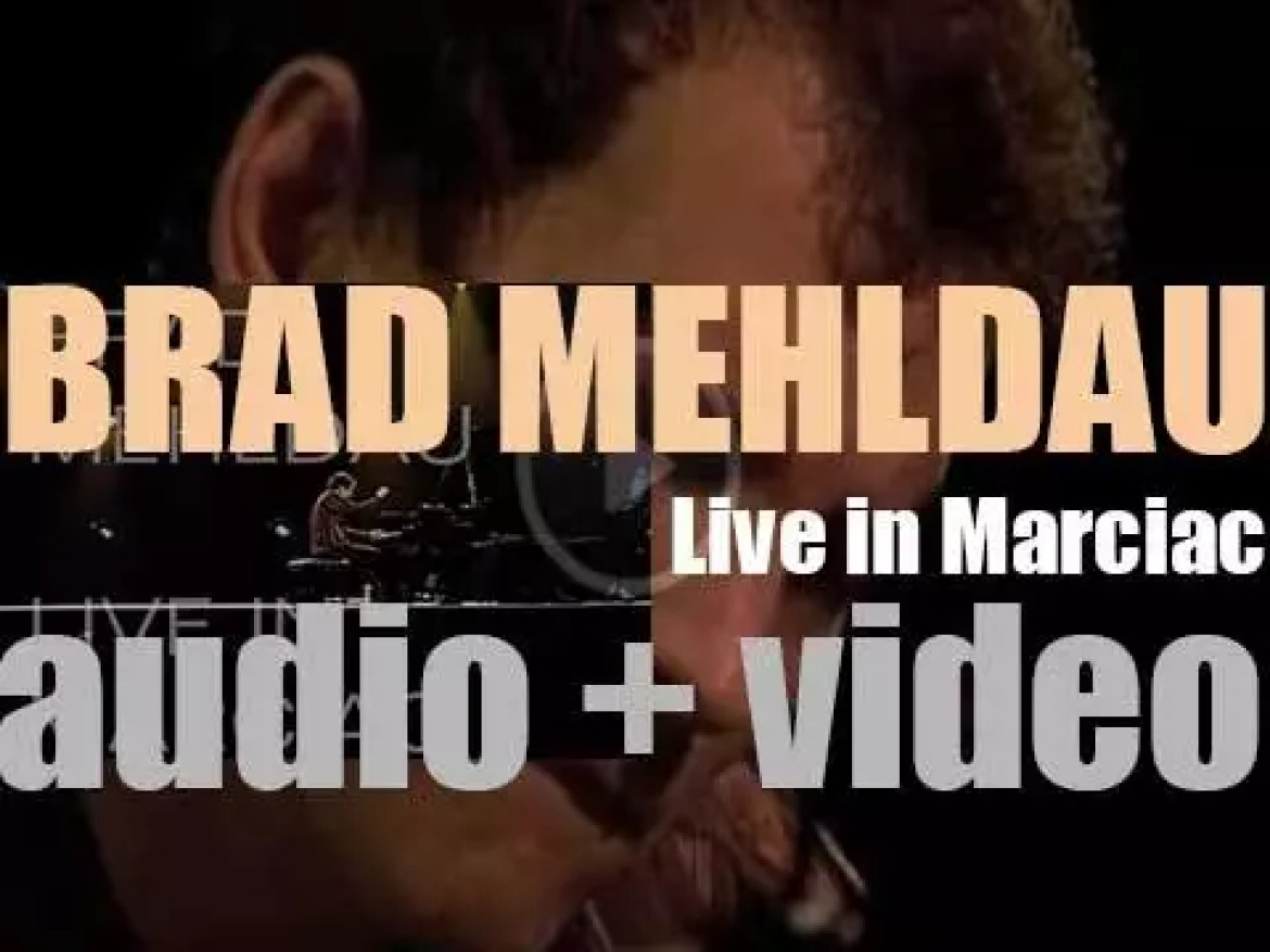 Brad Mehldau records 'Live in Marciac' at 'Jazz in Marciac' festival in France (2006)