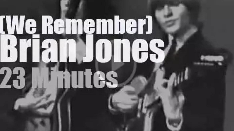 We Remember Brian Jones