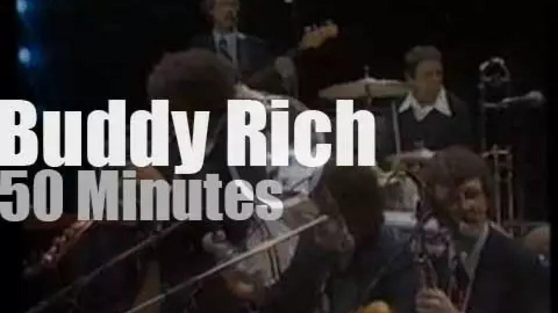 Buddy Rich takes his big band to North Sea Jazz (1978)