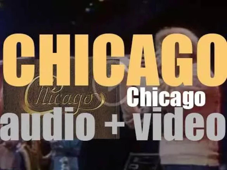 Columbia publish Chicago's fourth album : 'Chicago V' featuring 'Saturday in the Park' (1972)