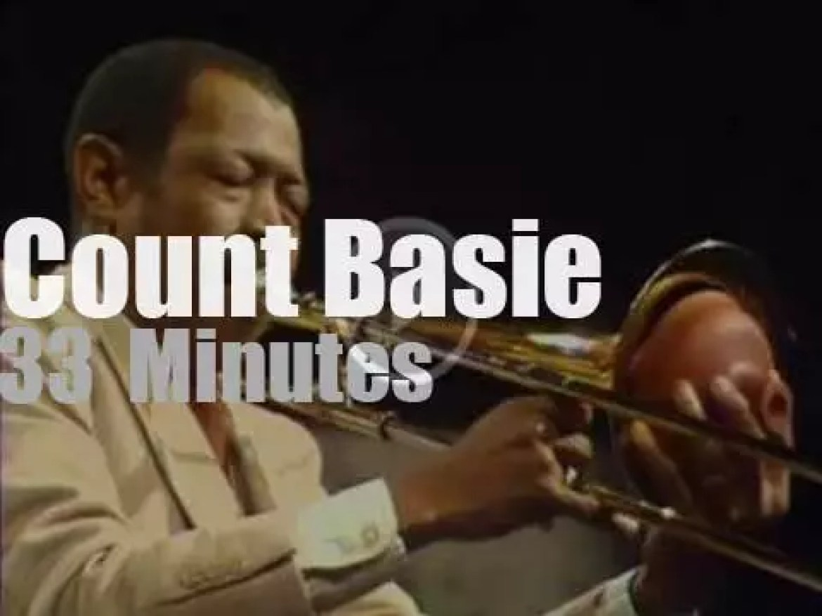 Count Basie takes his big band to Copenhagen (1976)