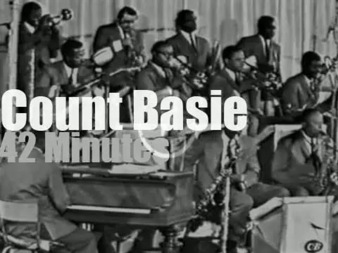 Count Basie & Orchestra are back in  Juan Les Pins (1968)