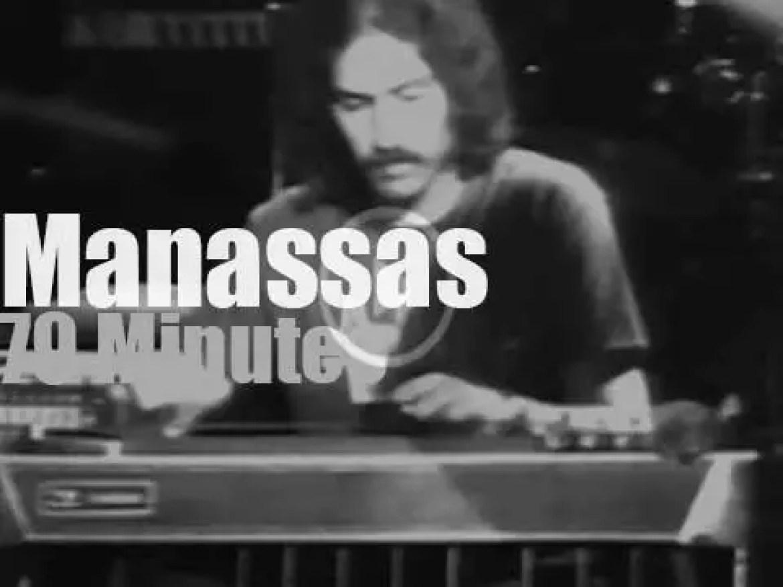 Crosby & Nash sit in with Stephen Stills & Manassas (1973)