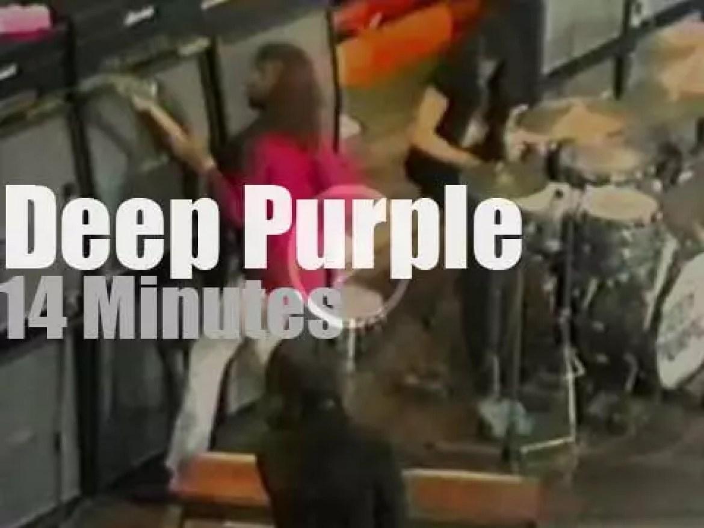 Deep Purple play in London (1970)
