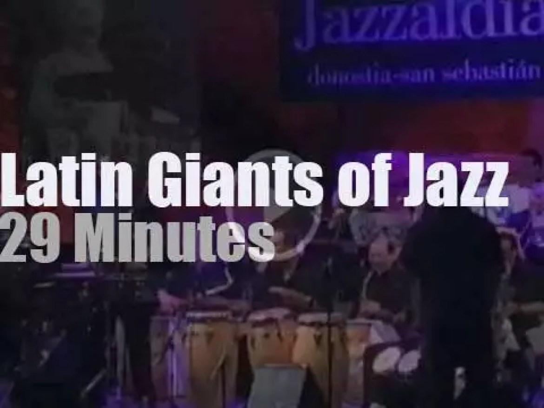 Eddie Palmieri takes the Latin Giants of Jazz to San Sebastian (2003)