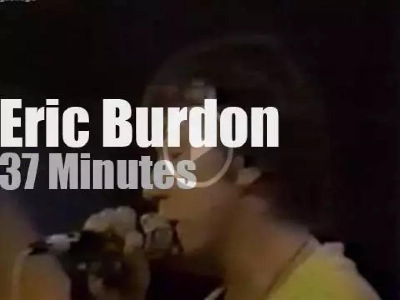 Eric Burdon sings at Montreux Jazz Festival (1976)