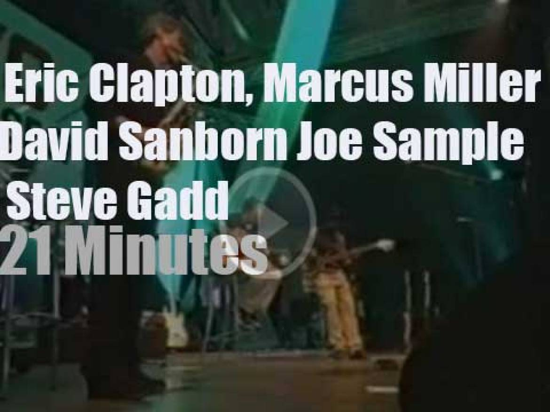 Eric Clapton, Marcus Miller et al play at North Sea Jazz (1997)