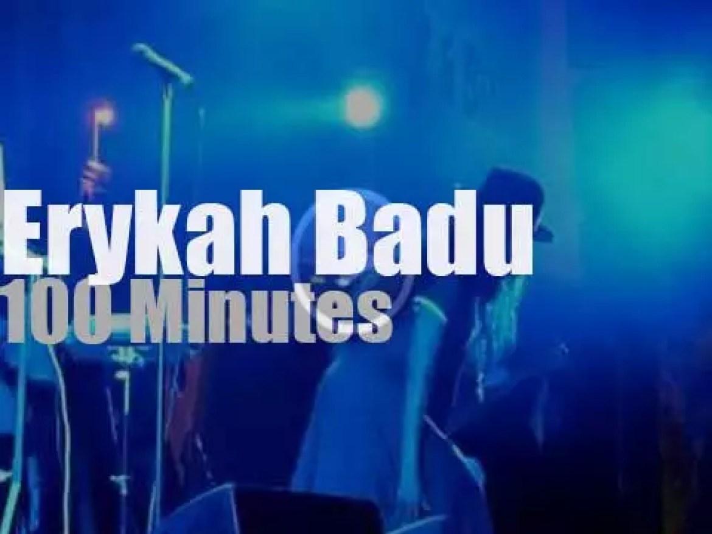Erykah Badu sings in Austria (2011)