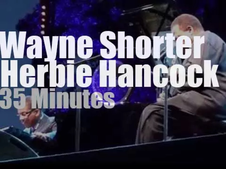 Herbie Hancock & Wayne Shorter meet in Marseille (2014)