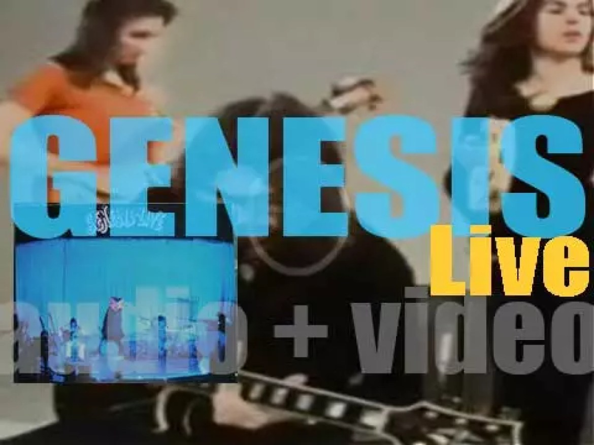 Charisma Records publish 'Genesis Live,' their first live album featuring Peter Gabriel (1973)