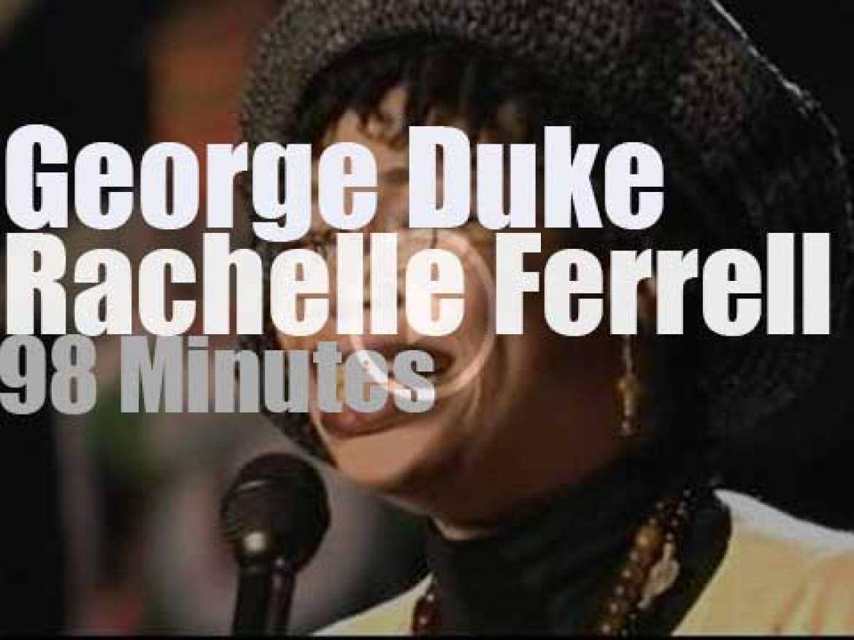 Rachelle Ferrell & George Duke meet at  Montreux Jazz (1997)