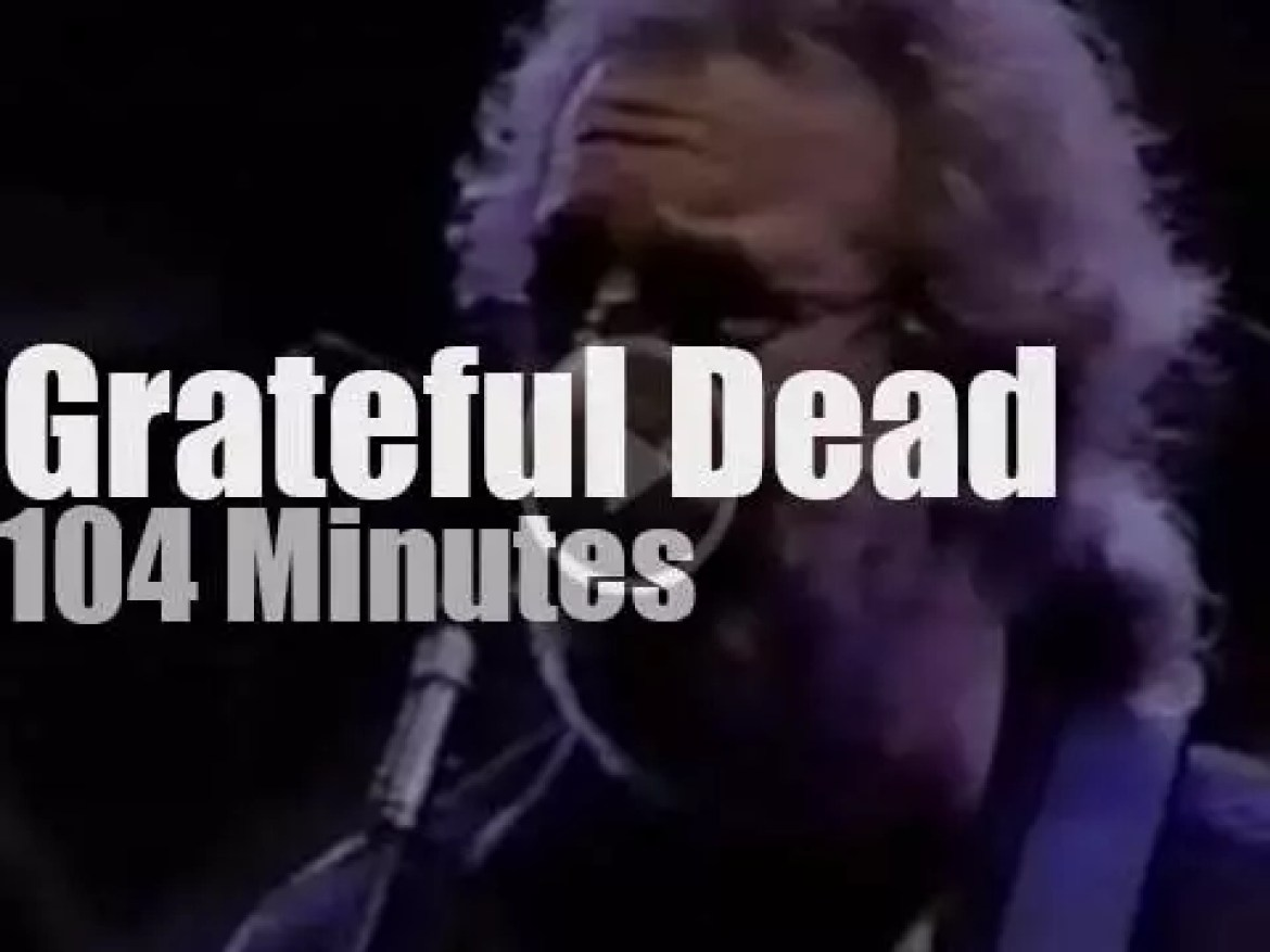 Grateful Dead play at the Giants home (1989)