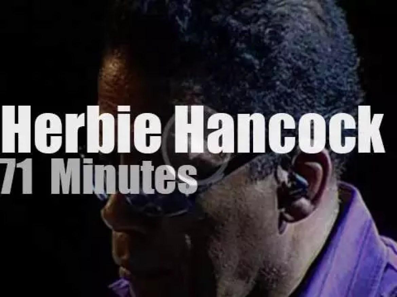 Herbie Hancock et al perform in Spain (2008)