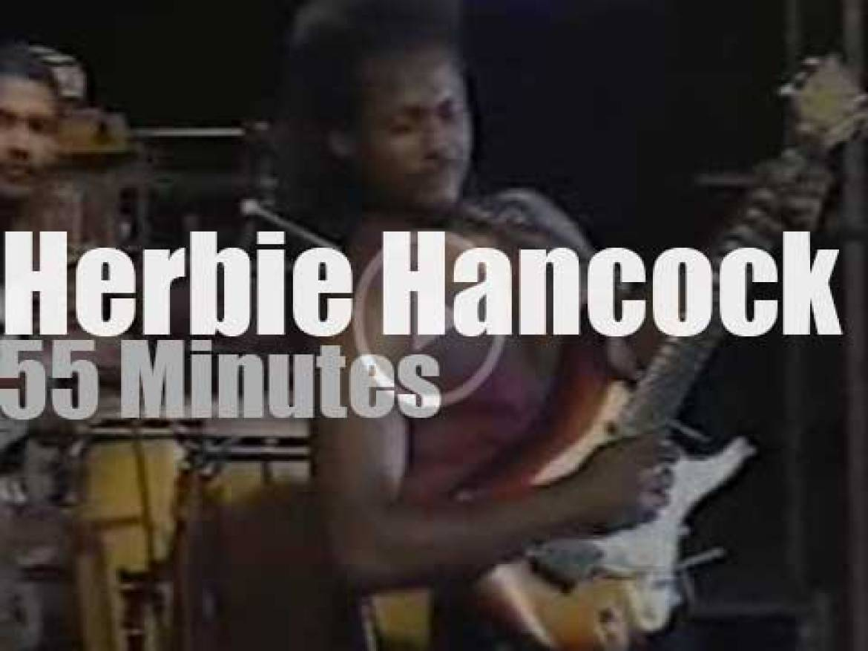Herbie Hancock Group plays at Umbria Jazz (1994)