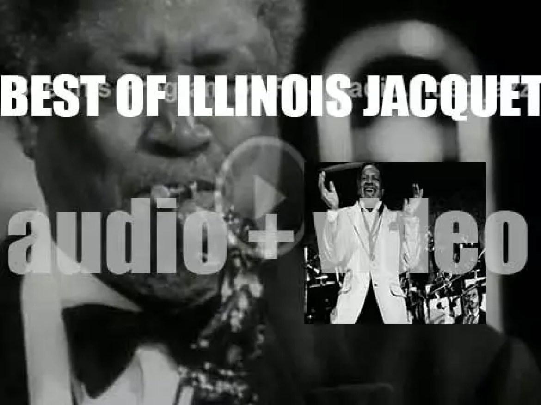 We remember Illinois Jacquet. 'Screeching'