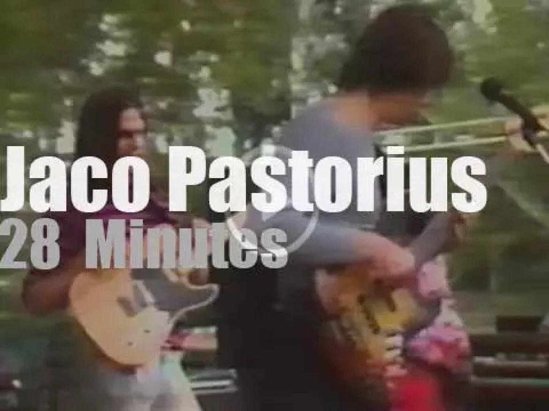 Jaco Pastorius plays at Pori Jazz (1983)