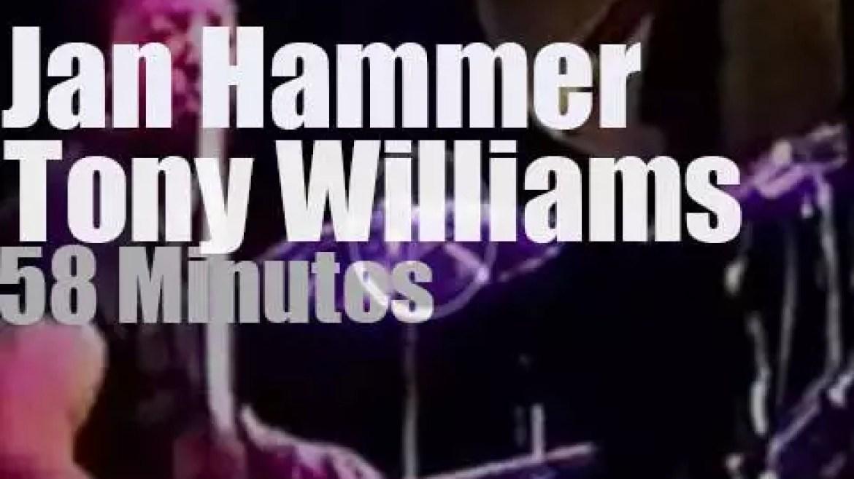 Jan Hammer meets Tony Williams at  Montreal Jazz (1991)
