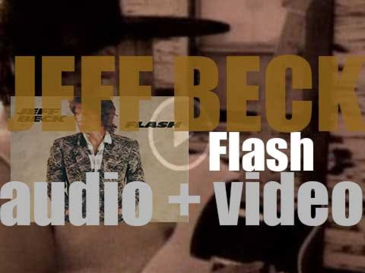 Jeff Beck releases 'Flash,' his fourth album featuring Rod Stewart on 'People Get Ready' (1985)