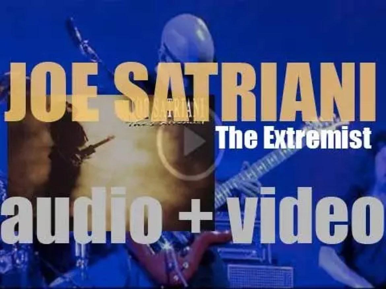 Joe Satriani releases his fourth album : 'The Extremist' (1992)