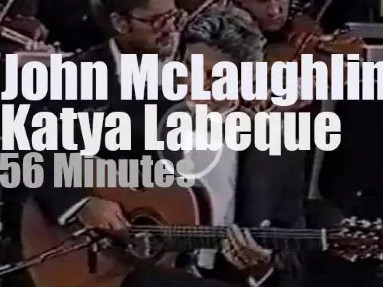 John McLaughlin & Katya Labeque meet in Munich (1989)