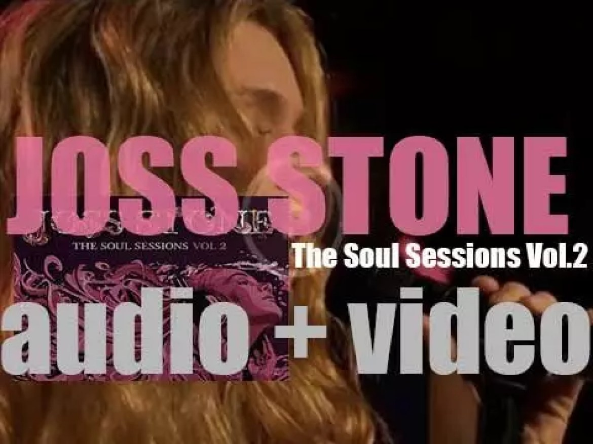 Joss Stone releases her sixth album : 'The Soul Sessions Vol. 2'  featuring eleven cover versions (2012)