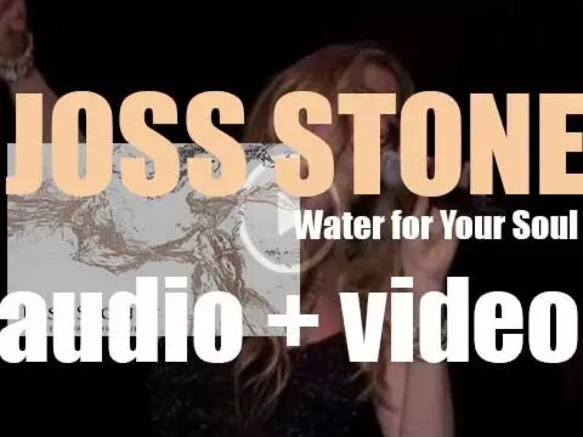 Joss Stone releases her seventh album : 'Water for Your Soul' (2015)