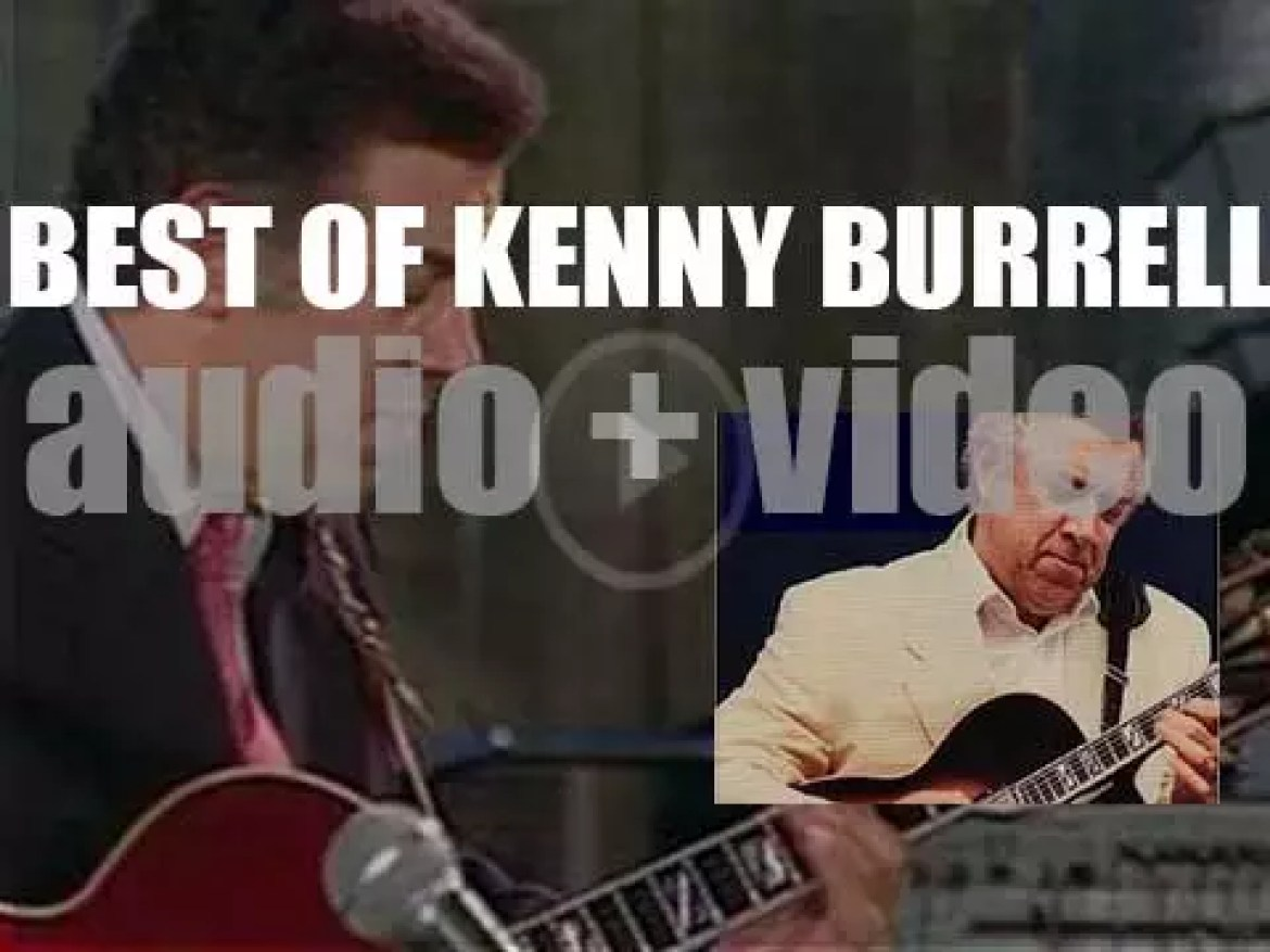 We Remember Kenny Burrell. 'Round Midnight Blue'