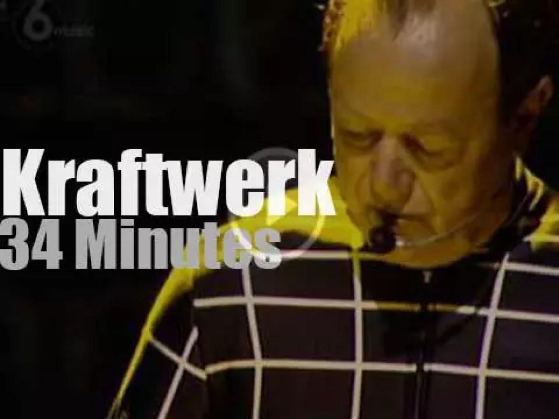 Kraftwerk attends a British festival (2013)