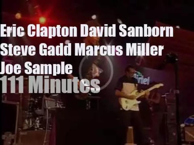 Clapton, Miller, Sanborn, Sample, Gadd pay a legendary visit to Spain (1997)