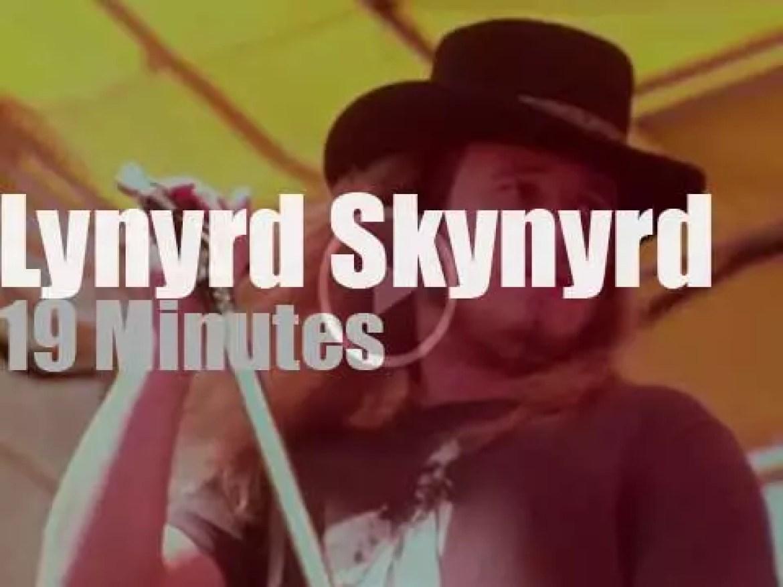 """Lynyrd Skynyrd have a """"Day On The Green"""" (1977)"""