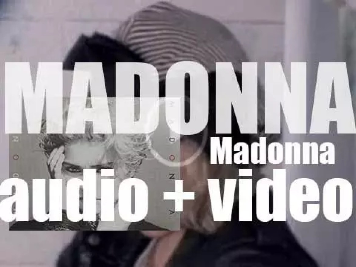 'Madonna' is her self-titled  debut album featuring 'Holiday,'  'Borderline' and 'Lucky Star' (1983)