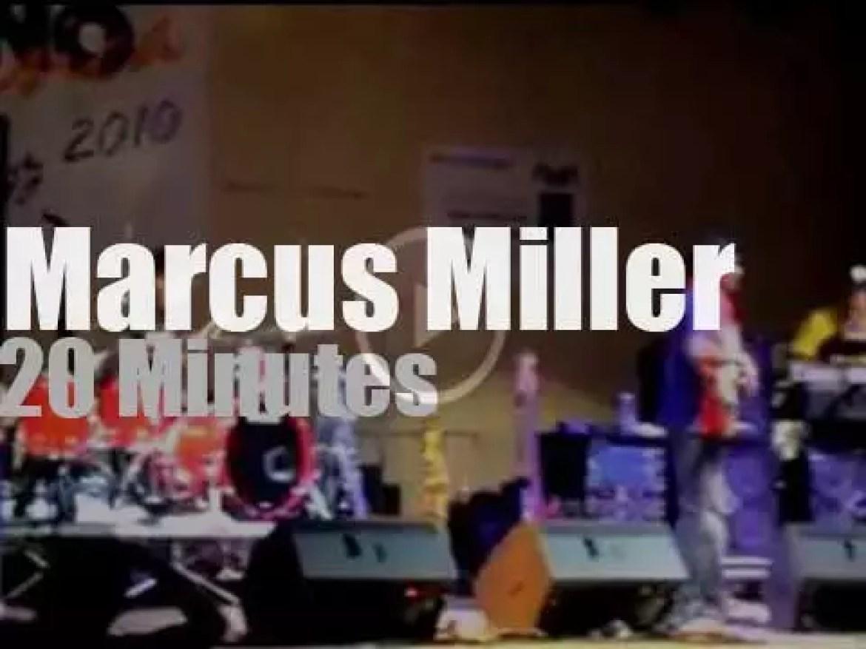 Marcus Miller visits Campania (2010)